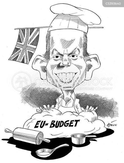 eu budget cartoon