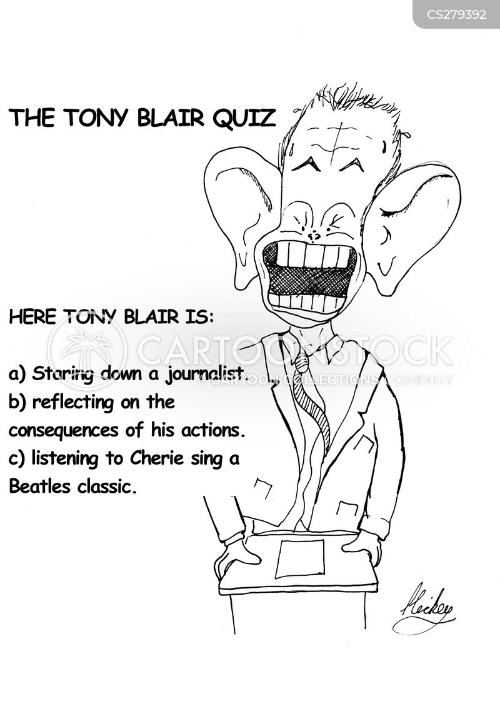 cherie blair cartoon