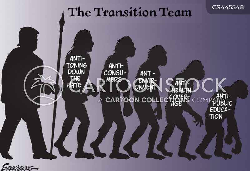 transition team cartoon