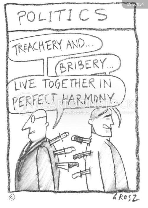 treacherous cartoon