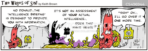 intelligence briefing cartoon