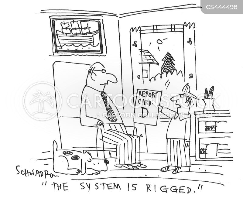 rigged elections cartoon
