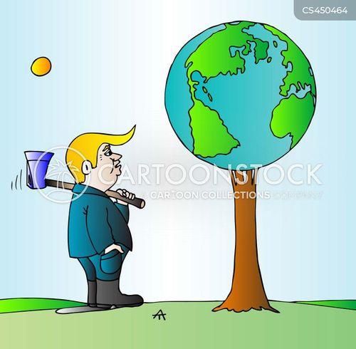 environmental regulations cartoon
