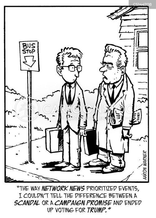 presidential scandals cartoon