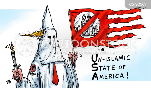 travel bans cartoon