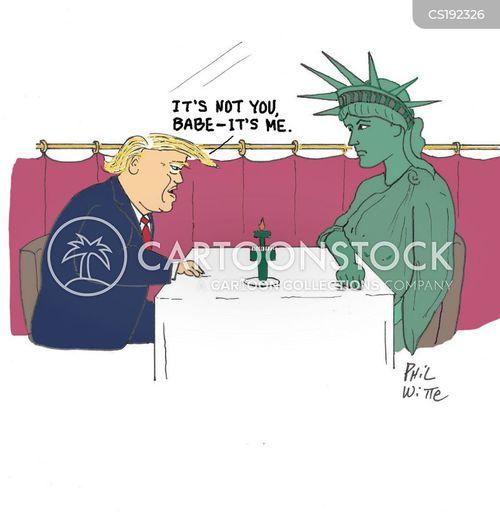 american values cartoon