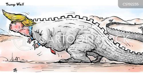 borders cartoon