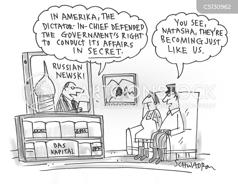 russia probe cartoon
