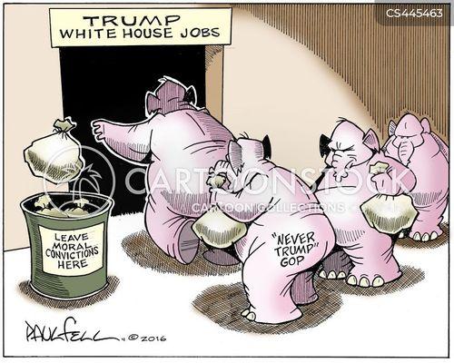 trump white house cartoon