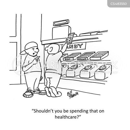 candy shop cartoon