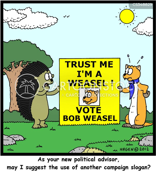 political advisers cartoon