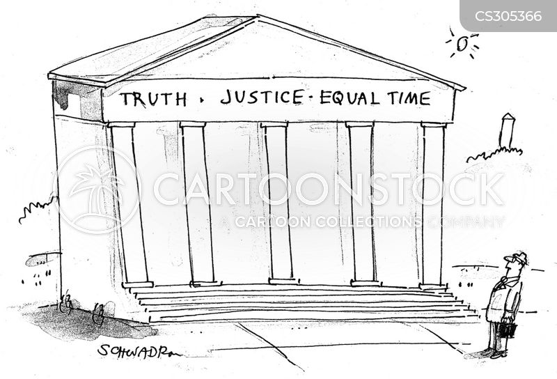 equal time cartoon