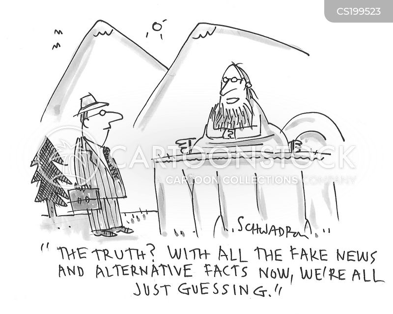 truth seeker cartoon