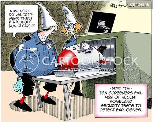 security problems cartoon
