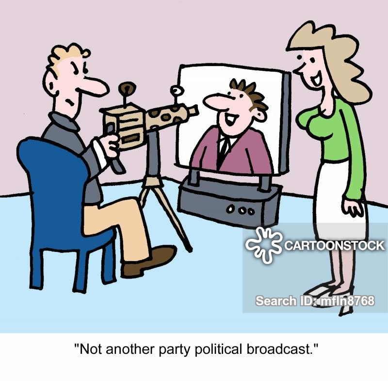 Political Party Broadcast cartoons, Political Party Broadcast cartoon, funny, Political Party Broadcast picture, Political Party Broadcast pictures, Political Party Broadcast image, Political Party Broadcast images, Political Party Broadcast illustration, Political Party Broadcast illustrations