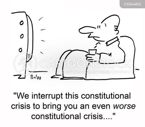 constitutional crisis cartoon
