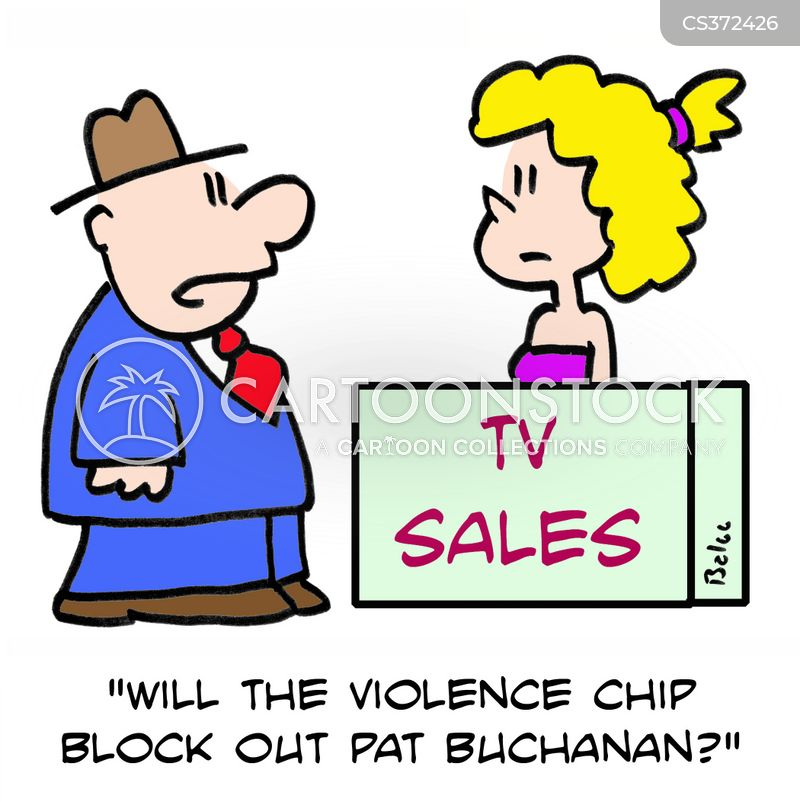 violence chip cartoon