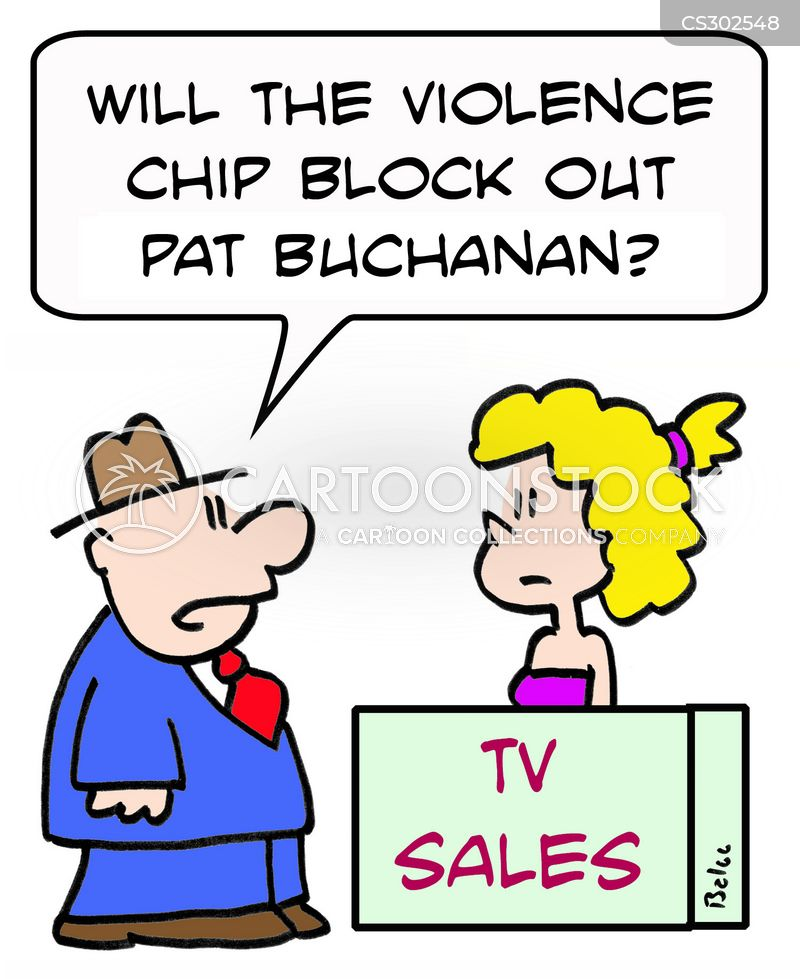 violence chips cartoon
