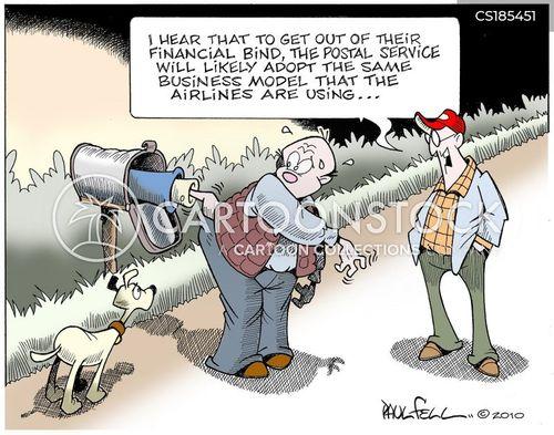 post office closings cartoon