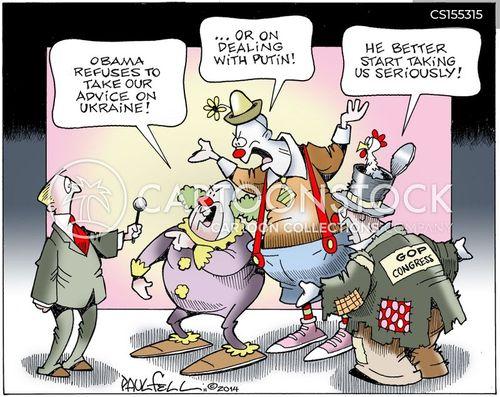 russian troops cartoon