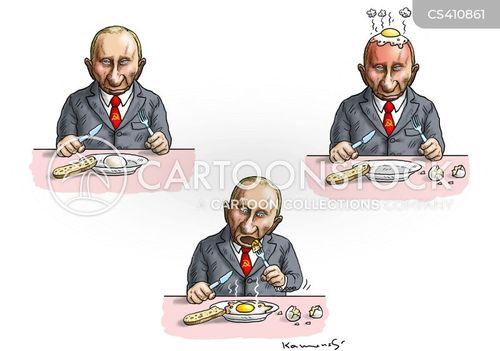 russian president cartoon
