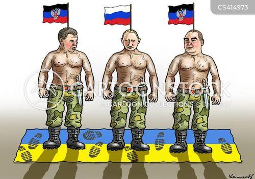 pro-russian separatists cartoon