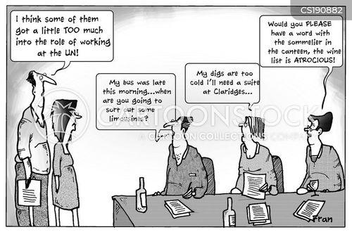 un worker cartoon