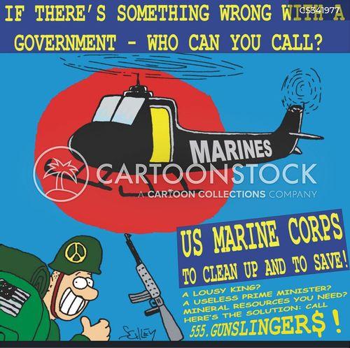isolationist cartoon
