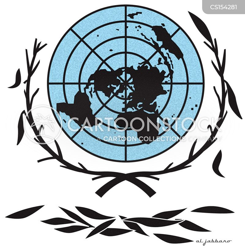 Un Peace Force Cartoons And Comics Funny Pictures From Cartoonstock