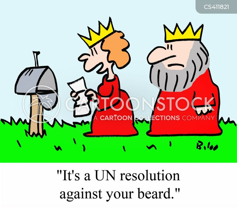 un resolution cartoon