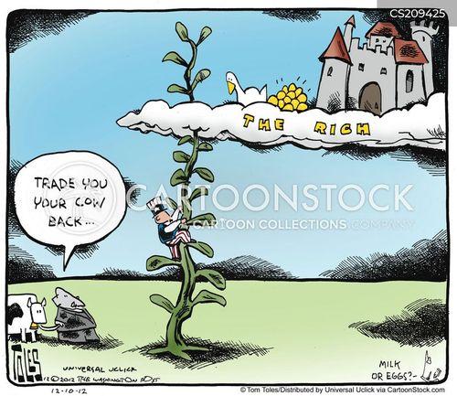 the rich cartoon