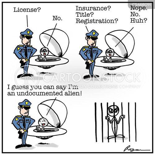 undocumented migrants cartoon