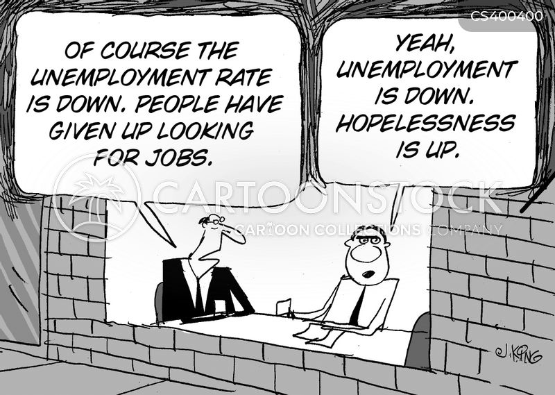 employment rate cartoon