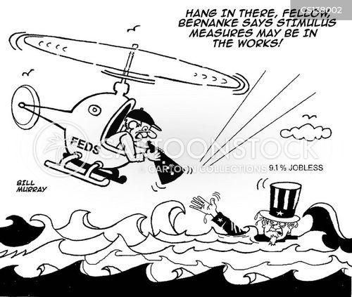 unemployment crises cartoon