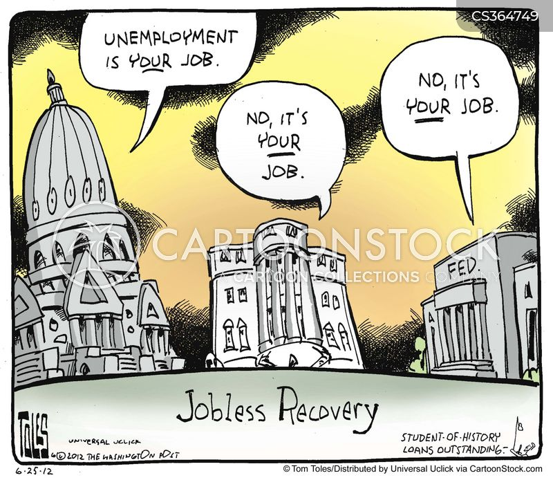 Image result for cartoon unemployment