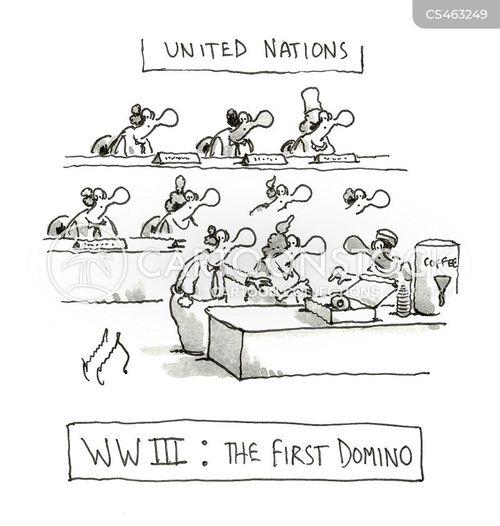 dominos cartoon