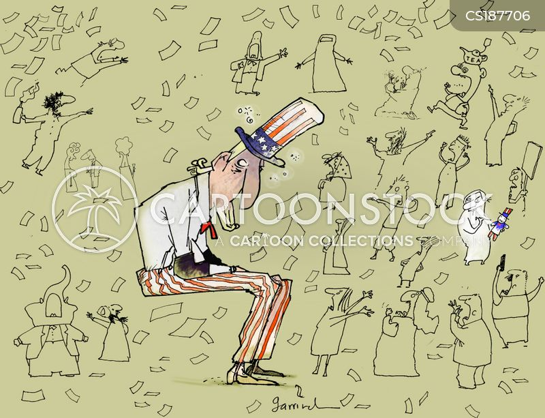 world leader cartoon