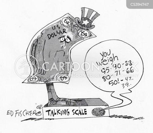 Pound Vs Dollar Cartoons And Comics