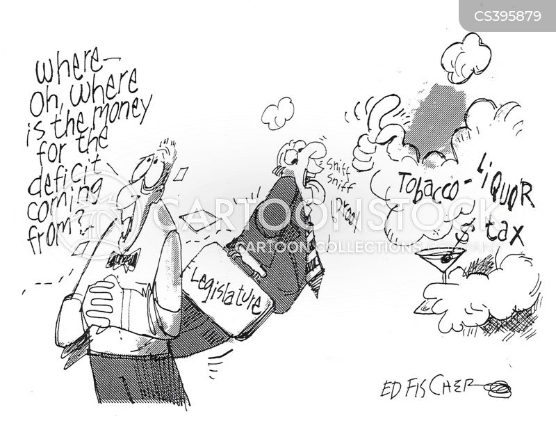 cigarette taxes cartoon