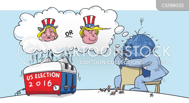 us elections cartoon