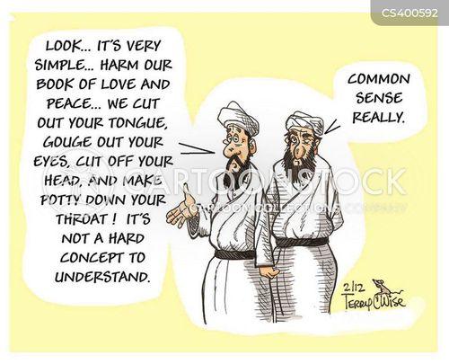 over reaction cartoon