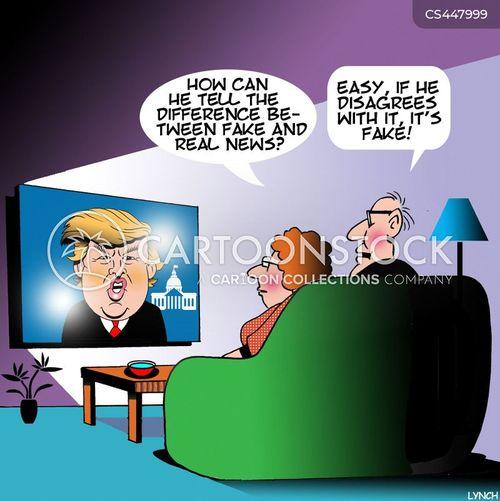 alternate facts cartoon