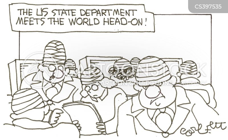 department of state cartoon