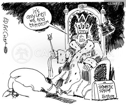 king george cartoon