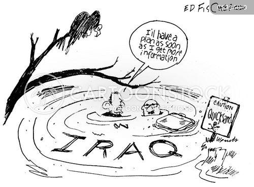 iraq wars cartoon