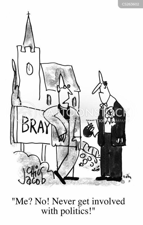 curate cartoon