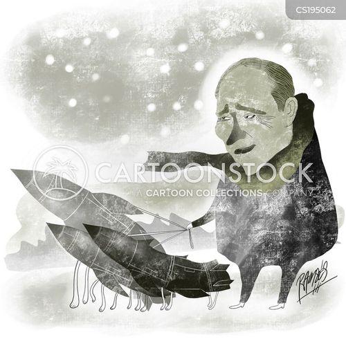 russian politics cartoon