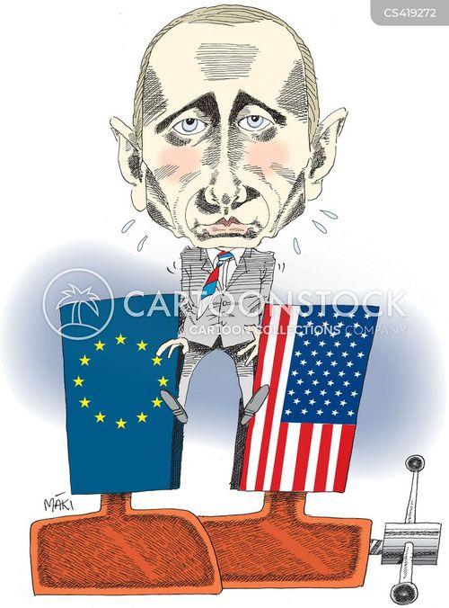 economic sanction cartoon