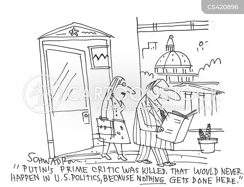 political assassinations cartoon