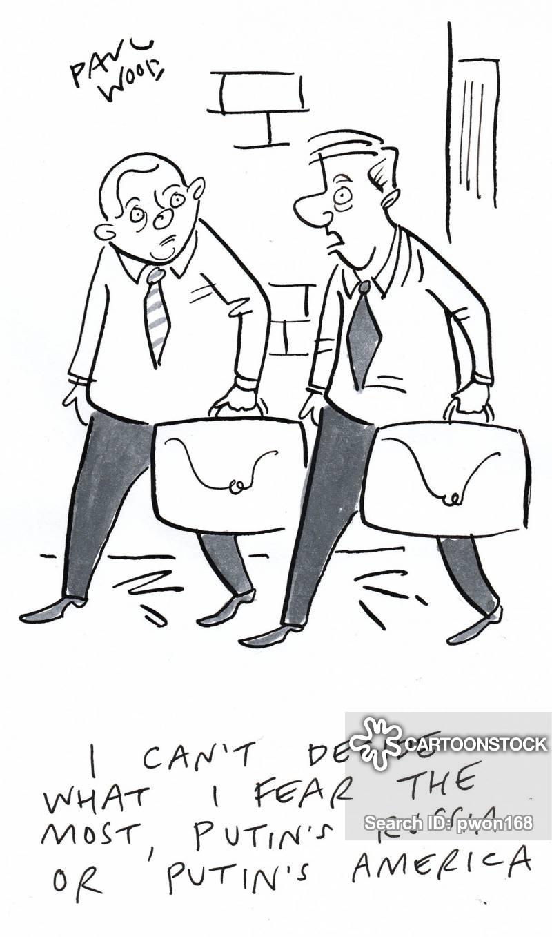 russia collusion cartoon